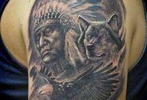 Indiános tetoválás