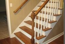 updating oak railing