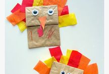 thanksgiving crafts / by caryn urata
