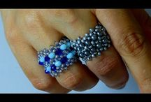 anillos en pepitas