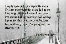 Keep The Backstreet Pride Alive / B.S.B...<3