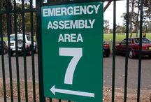 School Amenity Signs