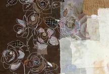 textil kollázs