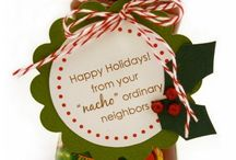 Office stocking Santa  / by Kristie Hendrix
