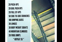 Work it / Cross fit workouts to whip your butt into shape. / by Karyn Bynum