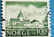 Personal STAMPS Collection NORGE  NORUEGA
