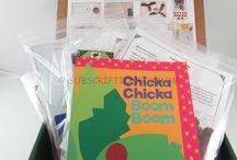 Chicka Chicka Boom Boom by Bill Martin Jr. and John Archambault - November 2014 Kit -