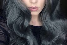 ChEvEux Gris Charbon-Charcoal Grey / coloration haircolor