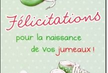 Cartes Félicitations Naissance garçon, fille, jumeaux / Cartes Félicitations Naissance garçon, fille, jumeaux à retrouver sur notre site: http://lacarteriedeflavie.com/Cartes-felicitations-naissance