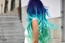 Our hair inspiration / Creating different colour ways with semi permanent colour