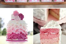 themed wedding: ombre