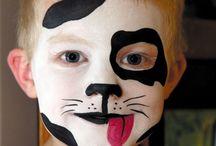 Разукрашиваем лицо ребёнка