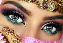 Make-up beauté sophistiquée