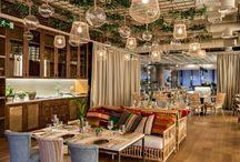 Restaurant decor