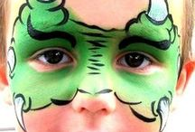 Face Painting Mask Ideas / Ideas for face painting masks
