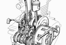 Custom bikes mechanics