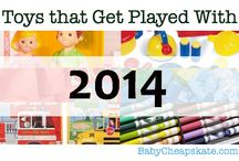 Toys that Get Played With 2014 / by Angie Wynne