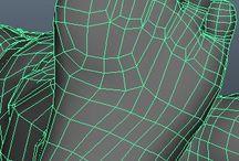 3D Models and techniques