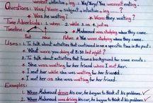 English: Sen Past Continuous
