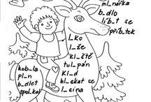 Pracovní listy - čeština