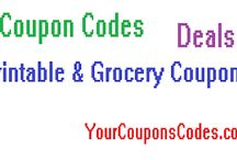 Coupons & Codes / Coupon Codes, Deals, Printable Coupons, Grocery Coupons