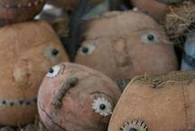 Primitives I love! / Handmade grungy primitives / by Alison Tegtmeier