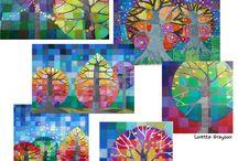 Peinture arts visuels