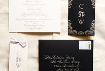 You're invited / Ideas for lovely invitations / by virginia booker