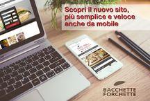 Restyling sito bacchetteforchette.it