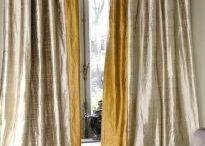 Fabrics, curtains, tassels