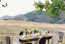 Inspiration {Black and white wedding} / by Little Gray Station - Wedding and Event Design