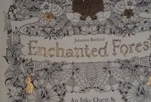 My Coloring Pages For Enchanted Forest