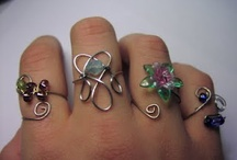 Sormukset: wire wrapped rings