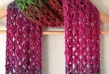 scraf and shawl