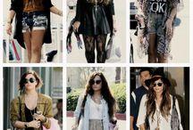celebrities  clothing
