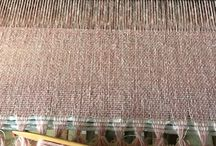 My weaving note / hand woven