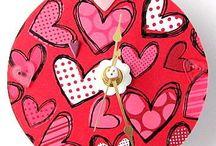 Valentine Hearts, Pinks and Reds / ♥ Everything Valentine ♥
