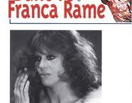 Φράνκα Ράμε (1929-2013): Ο βιασμός / Η Ιταλίδα ηθοποιός του θεάτρου, συγγραφέας και πολιτική ακτιβίστρια στον χώρο της ριζοσπαστικής αριστεράς, υπήρξε σύζυγος του νομπελίστα συγγραφέα Ντάριο Φο. Τον Μάρτιο του 1973 απήχθη στο Μιλάνο από μια ομάδα νεοφασιστών, οι οποίοι αφού τη βασάνισαν και τη βίασαν, την άφησαν σε άθλια κατάσταση σ' ένα πάρκο μετά από λίγες ημέρες  - http://www.sansimera.gr/biographies/660 - https://barikat.gr/content/o-viasmos-tis-franka-rame-fasistes-karampinieri-kai-mia-anoteri-epithymia