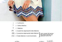 Horgolt női ruhák