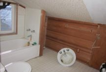 BECU Project Home / My ugly dysfunctional bathroom. / by Susan Presley