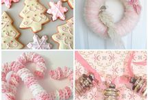 Pink Christmas / by Angelina's cards