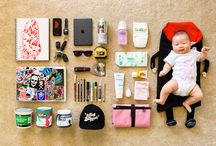 Essentials / Photographs of gentleman's essentials laid out onto the floor