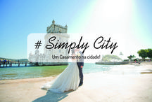 #Simply City / Este Pacote de Casamento da Noivos de Fresco representa o conceito de um casamento de inspiração urbana, com panorâmicas das principais cidades Portugal, partilhando todas as emoções com familiares e amigos.  This Noivos de Fresco Wedding Package concept represents an Urban-inspired wedding with panoramic views of major Portuguese cities, sharing all the emotions with family and friends.