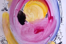 Pink and Yellow / Art - drawings, paintings...
