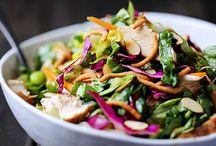Σαλάτα με κοτόπουλο και σάλτσα βινεγκρέτ / Σαλάτα με χρώμα και γεύση για όσους βιάζονται να απολαύσουν ένα light γεύμα!