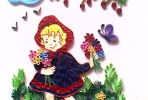 tales / quilling