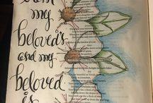 Bible Journaling - Song of Solomon