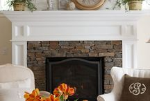 Fireplaces, stoves, heating, spaces.