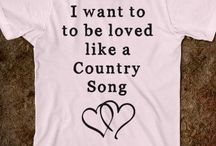 Country must haves...
