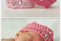 Crocheted Baby Crown!!